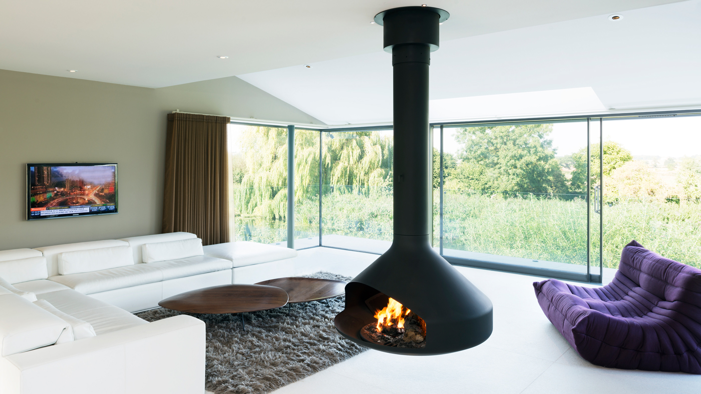 contemporary modern living room