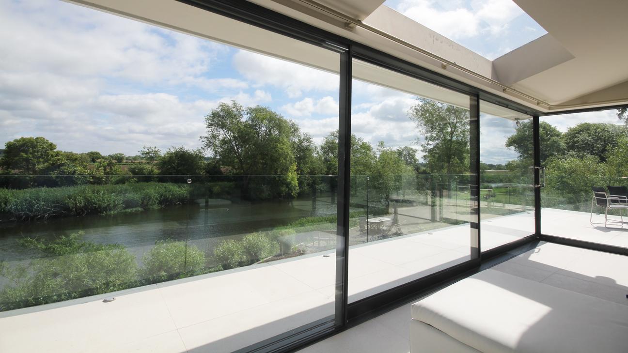 contemporary modern balcony