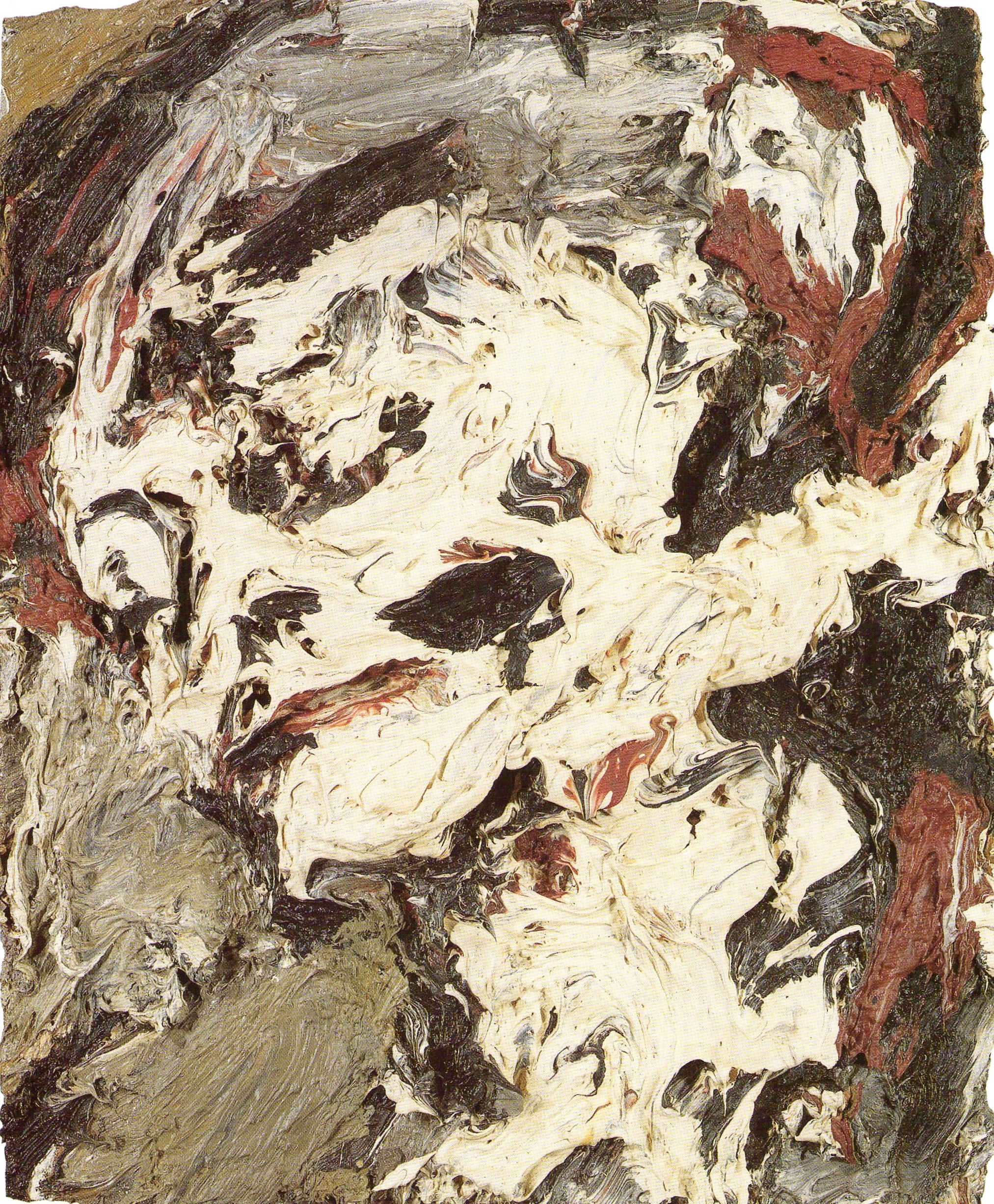 Frank Auerbach,  Head of Gerda Boehm,  1965