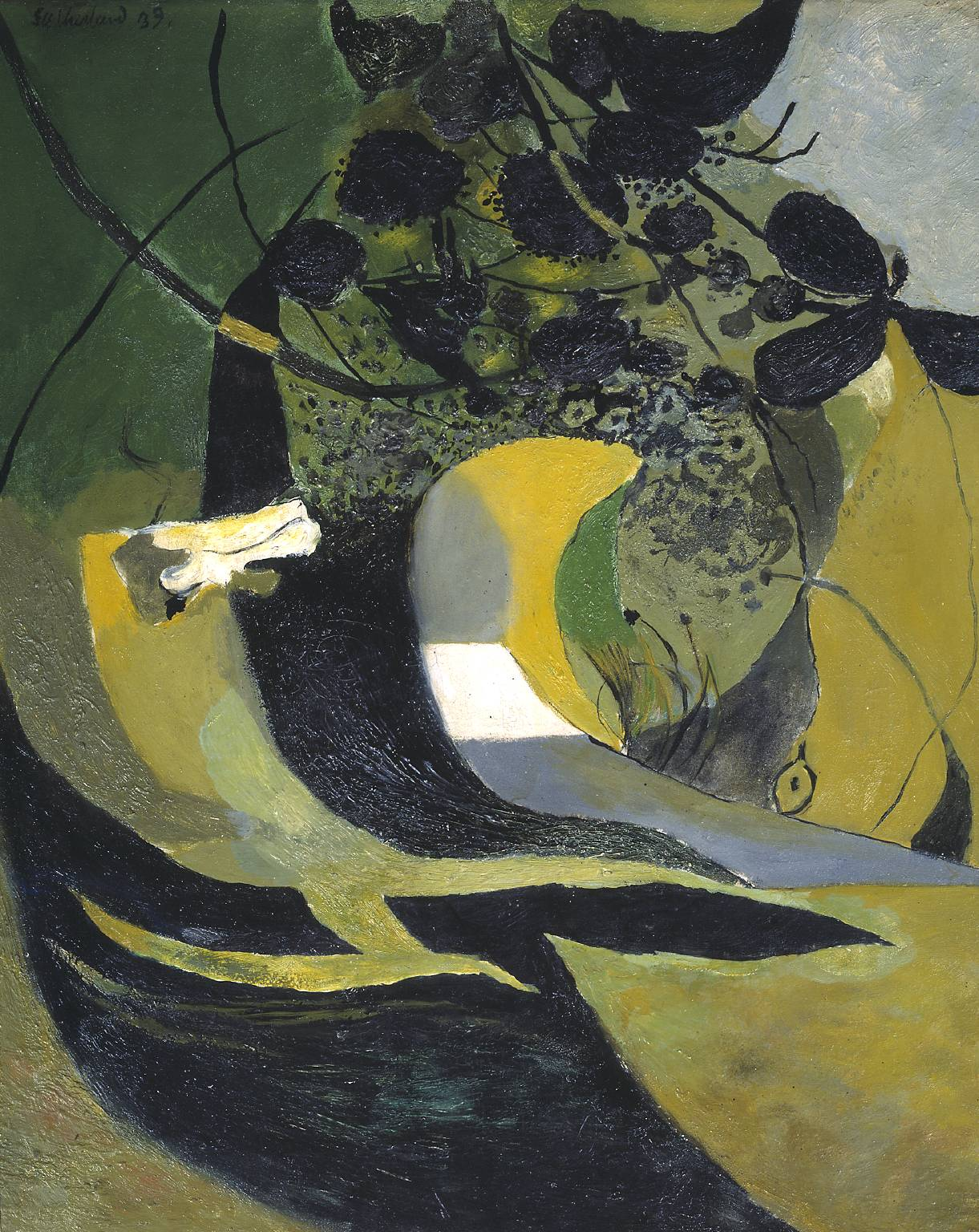 Graham Sutherland OM,  Entrance to a Lane, 1939
