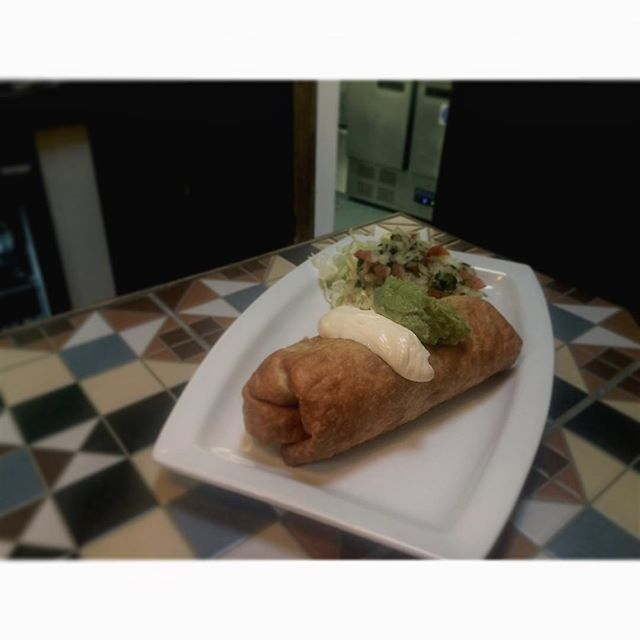 Come try the new addition to our specials menu! The delicious Chimichanga will explode your taste buds! #Amigos #amigosburystedmunds