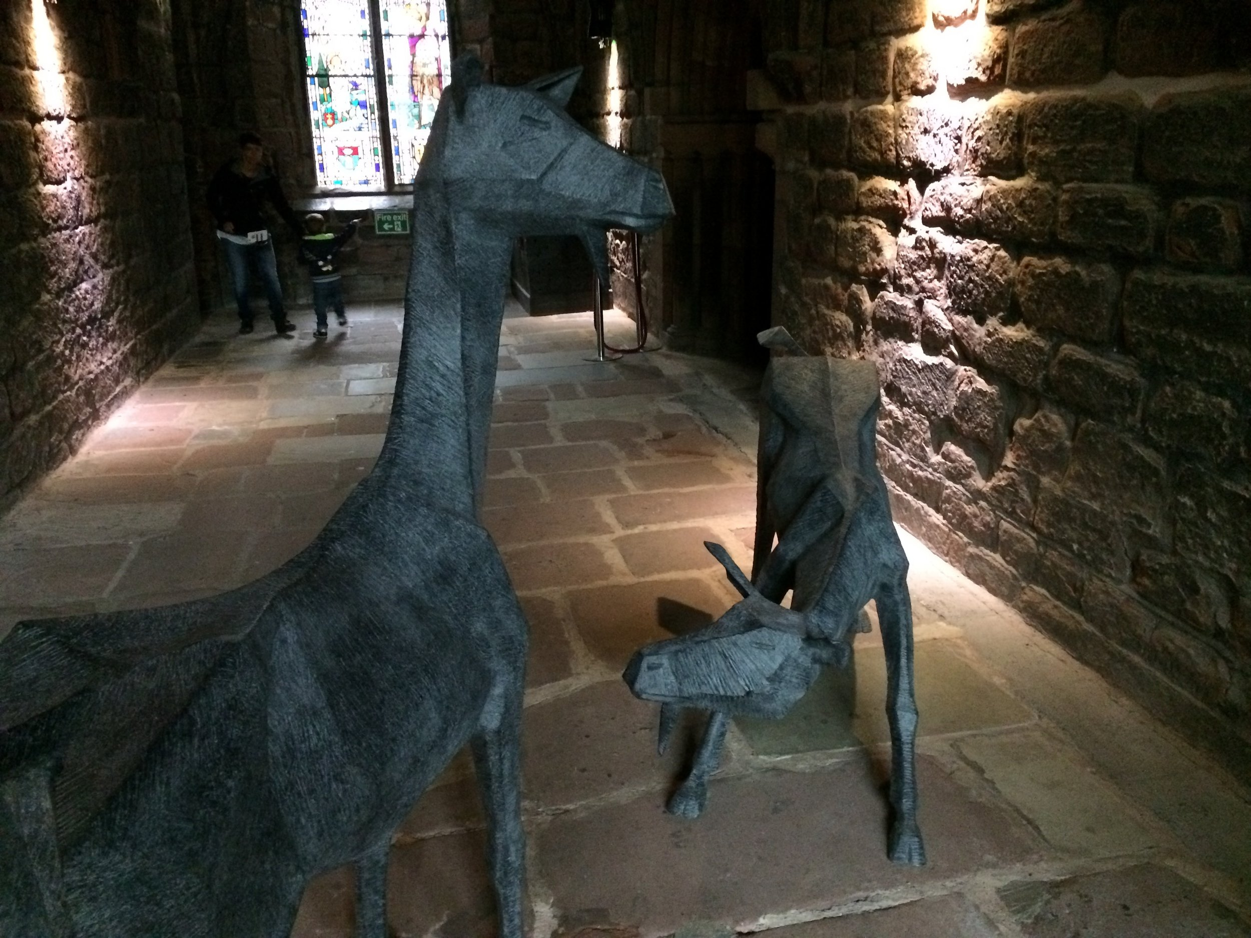 A great show - We spent a great few hours walking through the fantastic display of modern sculpture at Chester Cathedral. Go visit before it ends in October.