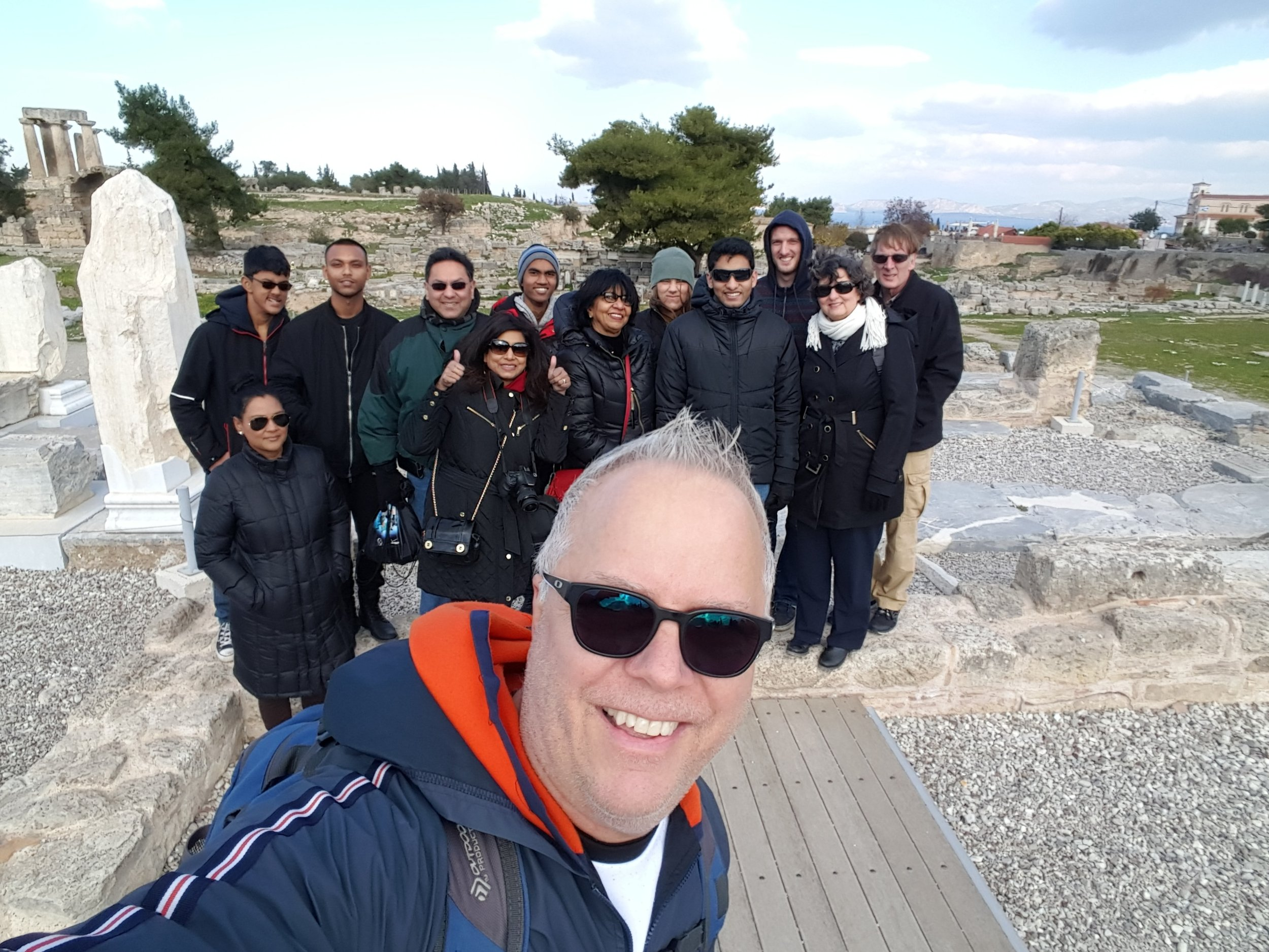 The Gateways2Life Team that served the refugees in Athens during the Christmas holidays in December, 2016.