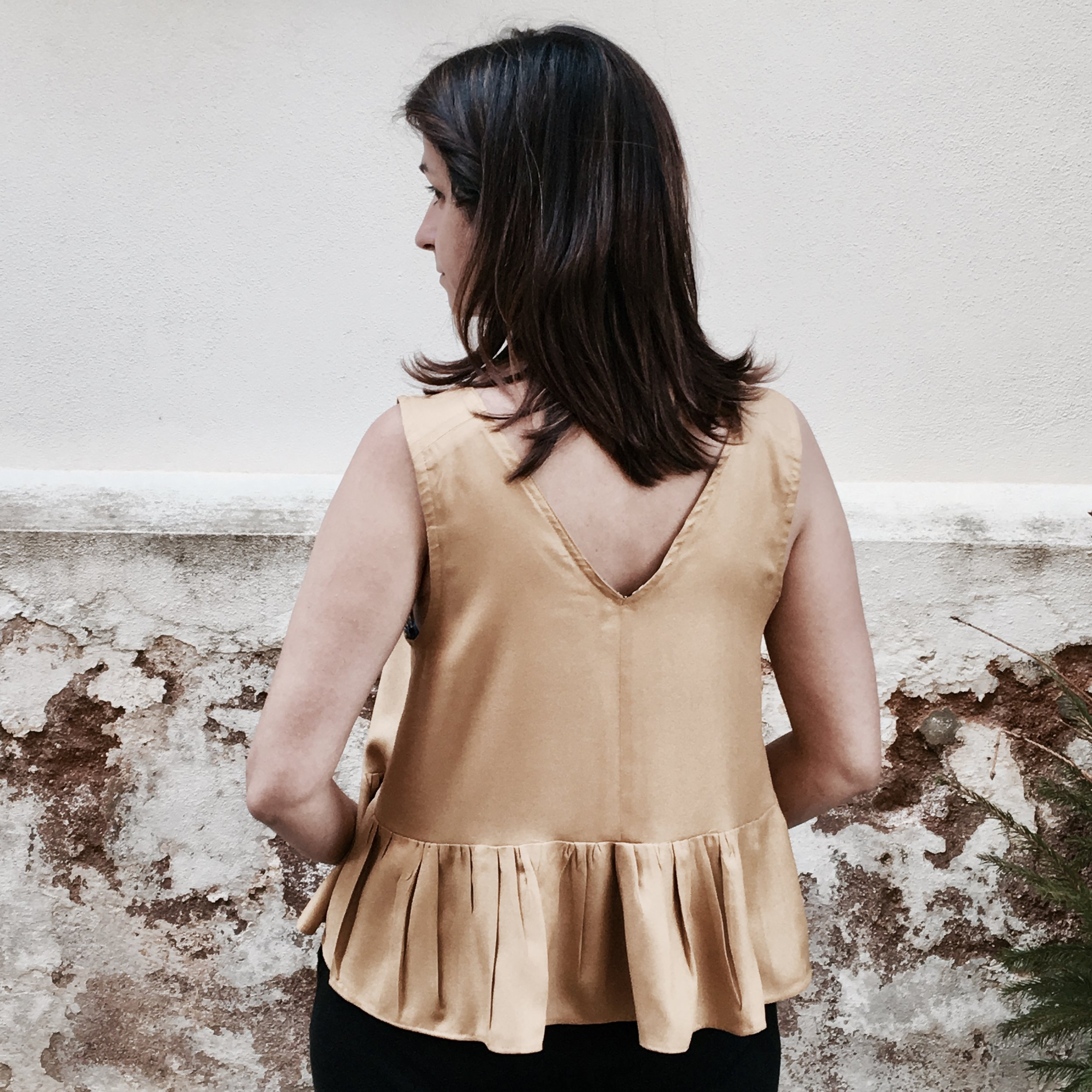 The Peplum Top by In The Folds