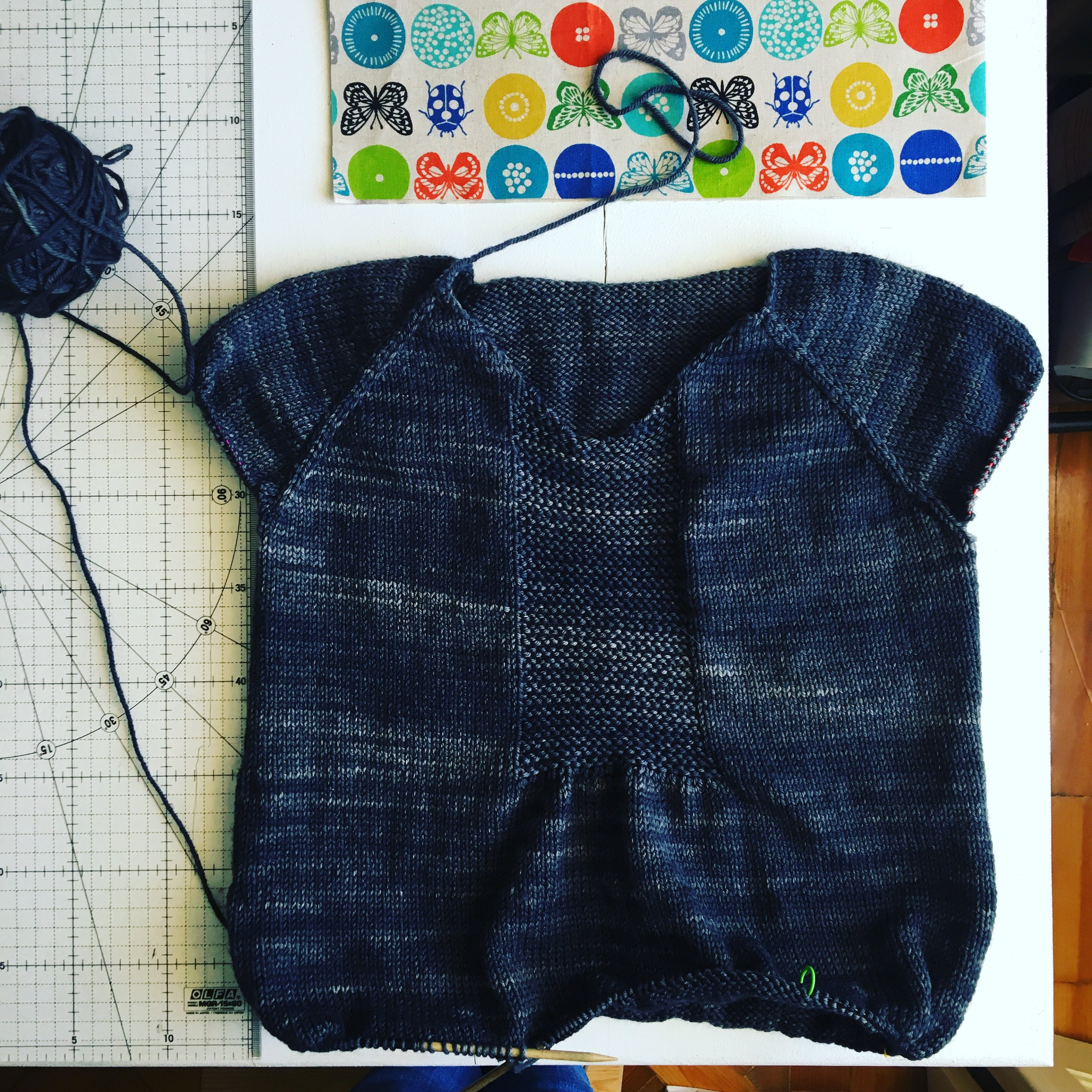 The South Bay Sweater pattern by Sam Lamb