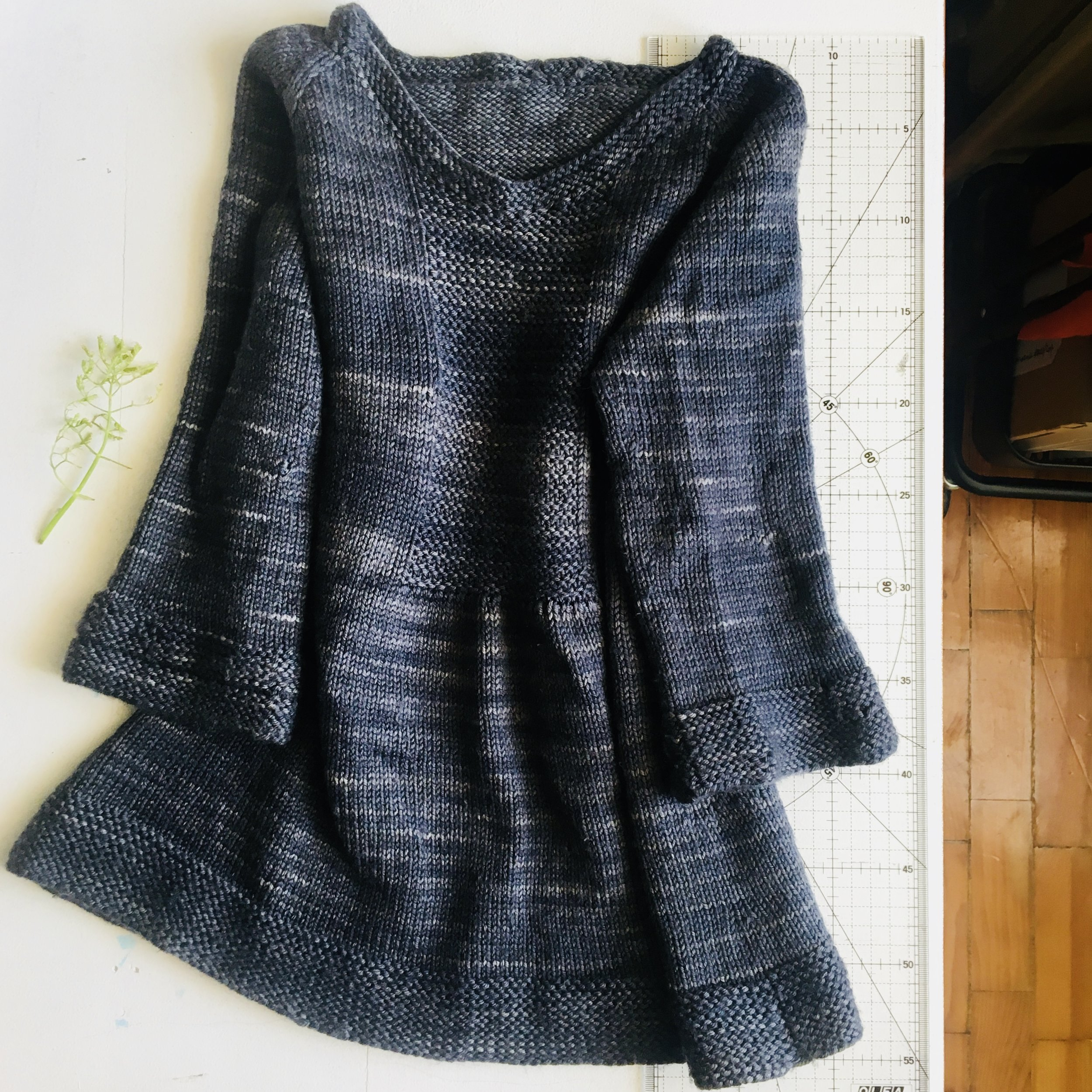 The South Bay sweater, pattern by Sam Lamb