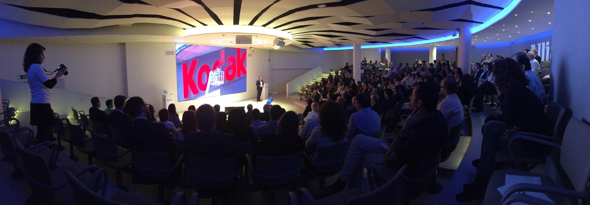 Conferencias y eventos corporativos