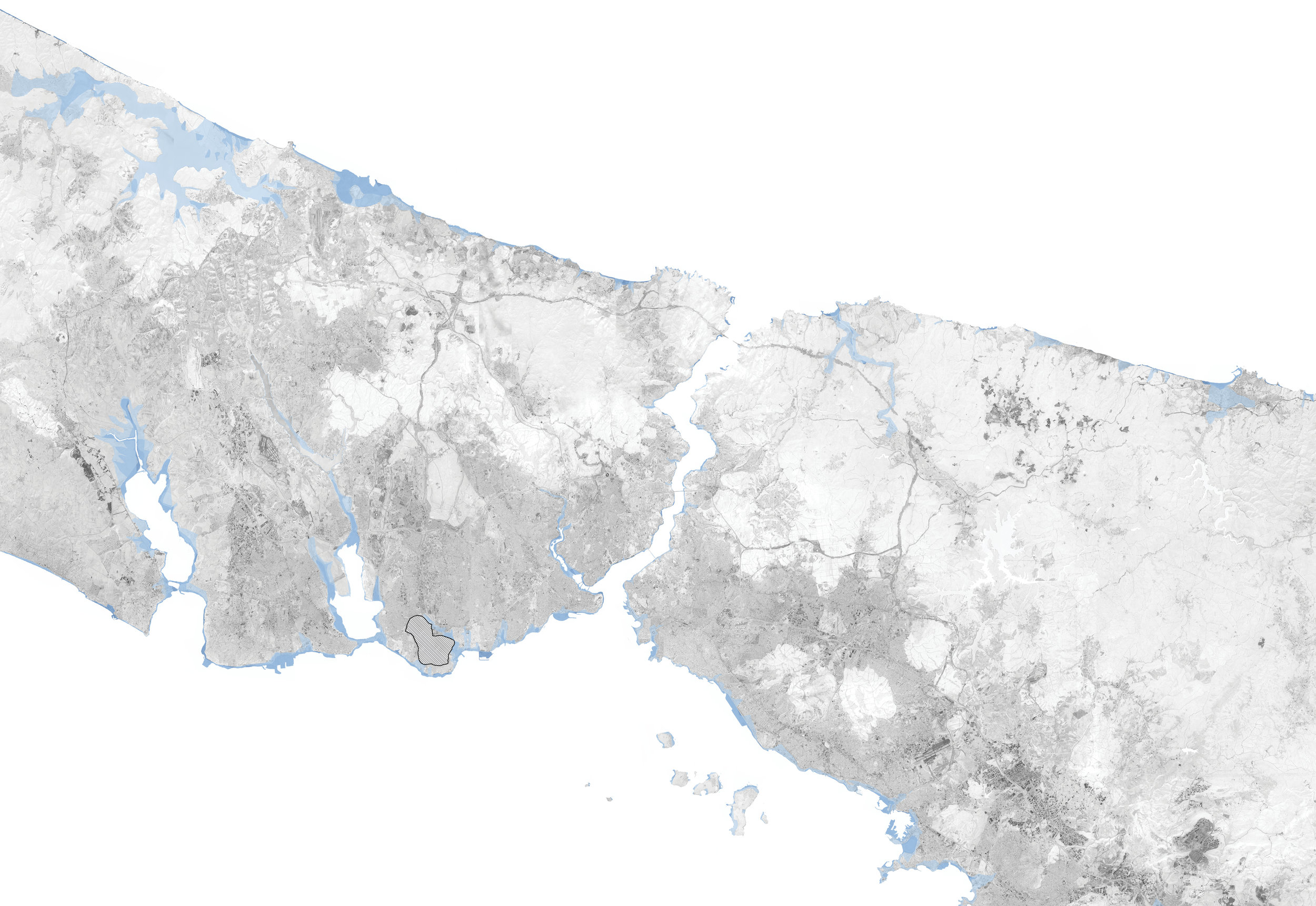 Istanbul's possible flood scenerio in 2100