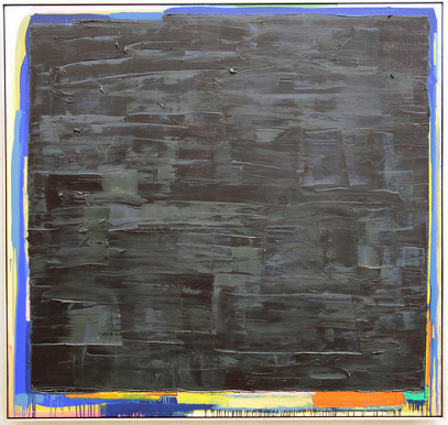 "kurtz • oil/canvas • 70 x 74"" • 1982"