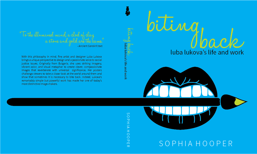 ▲  Book cover inspired by influential designer, S. Hooper