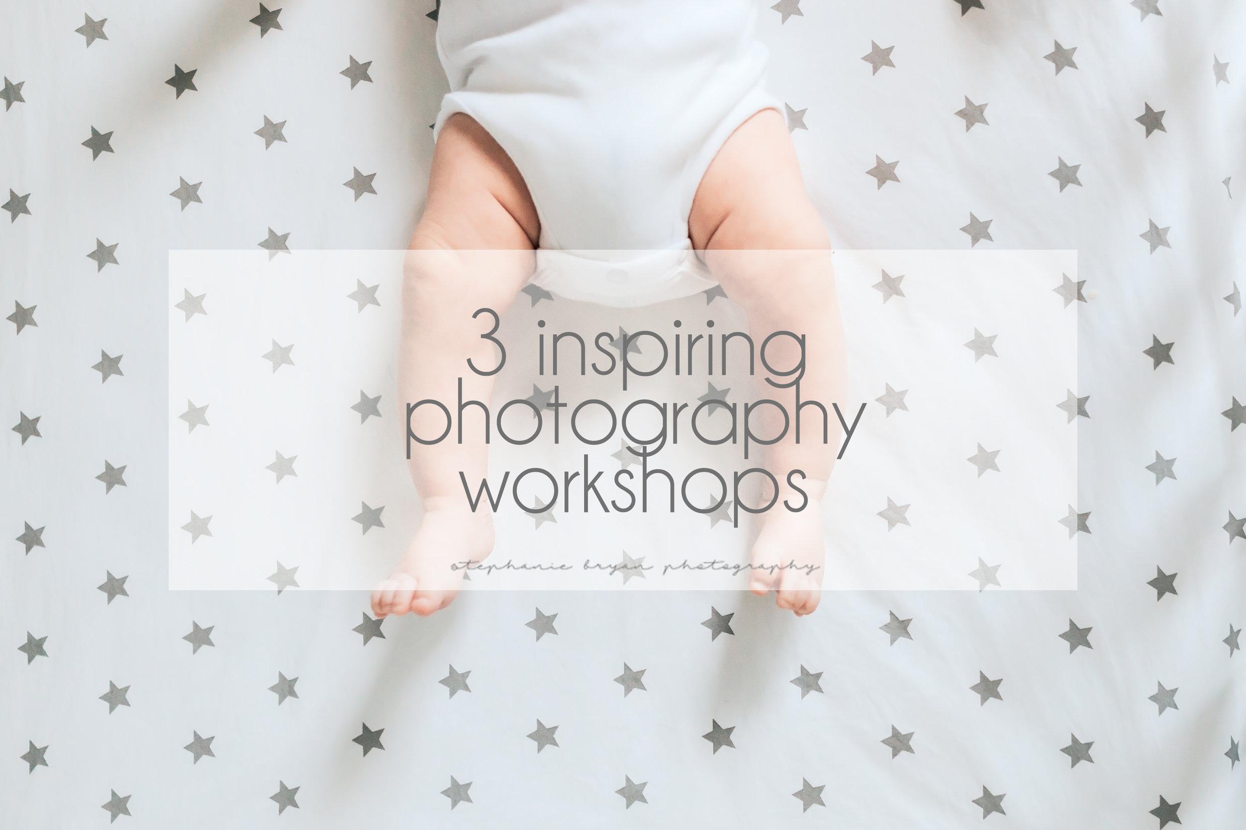 Stephanie Bryan Photography - 3 inspiring photography workshops