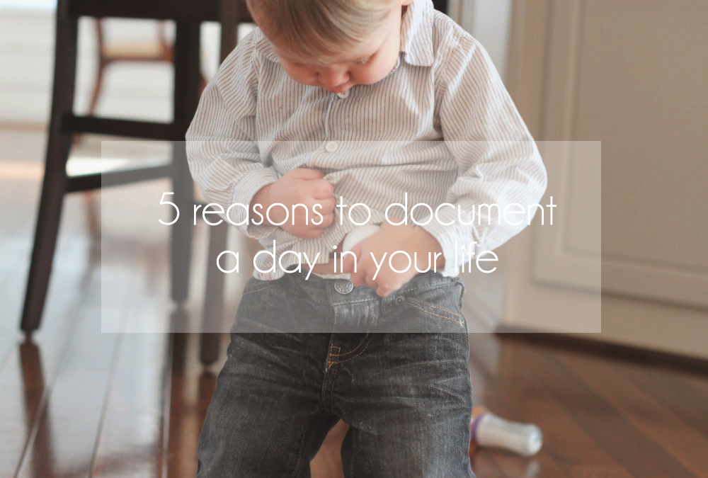 Stephanie Bryan Photography - 5 reasons to document a day in your life