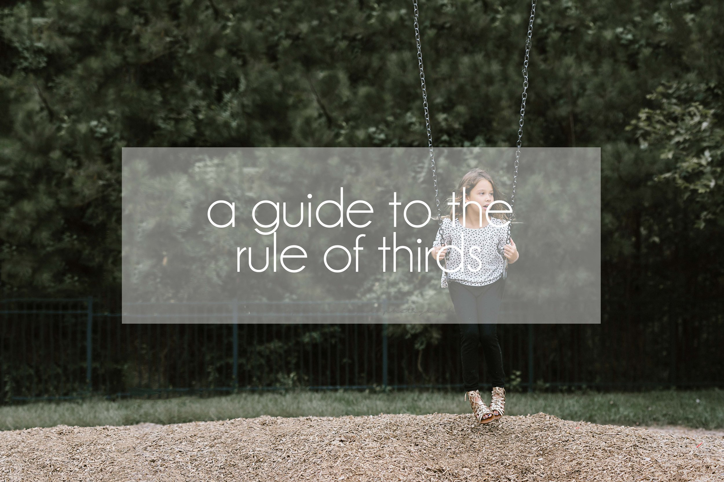 Stephanie Bryan Photography - A guide to the rule of thirds