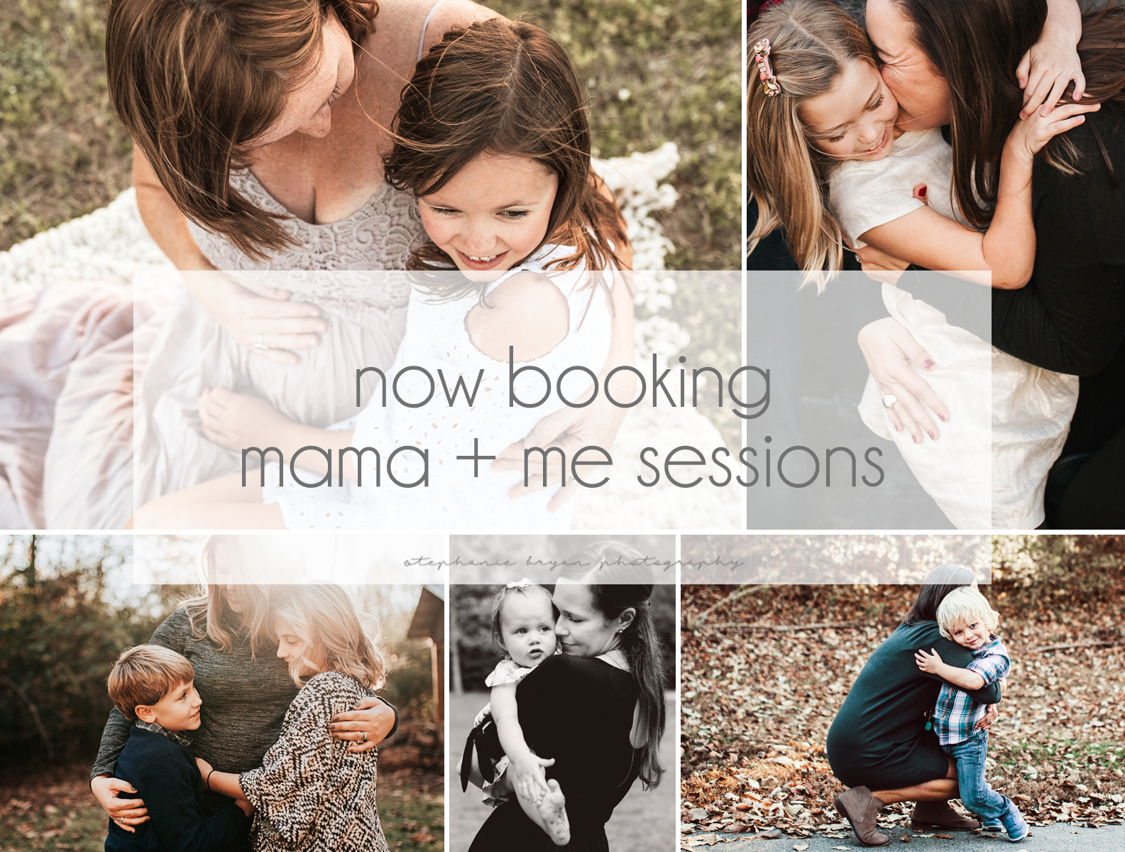 Stephanie Bryan Photography - Book your mama + me session today!