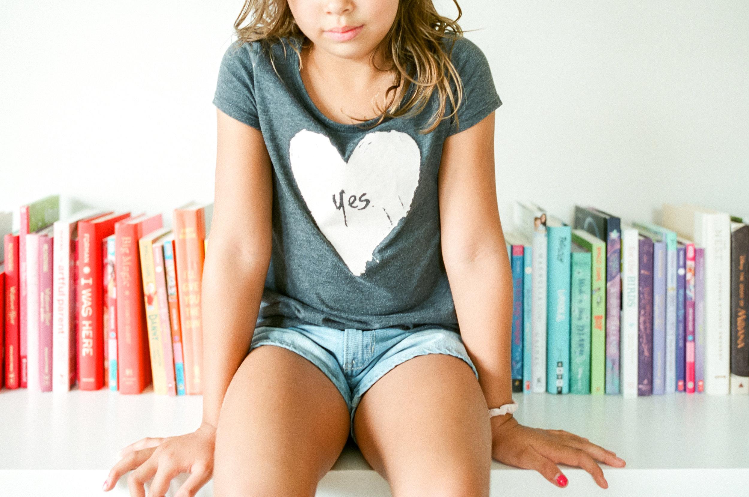 raleigh-film-photographer-rainbow-books-yes-shirt