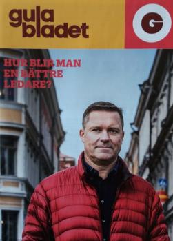 Intervju med Mårten Mickos, vd och inspiratör, i Gula Bladet 1/2016. Foto: Karl Vilhjálmsson.