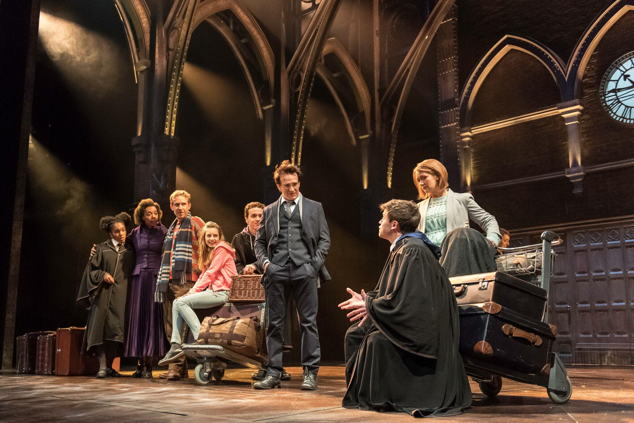 Harry Potter and the Cursed Child by Jack Thorne based on a story by JK Rowling, John Tiffany and Jack Thorne | Palace Theatre | Directed by John Tiffany | Set by Christine Jones | Costumes by Katrina Lindsay | Lighting by Neil Austin