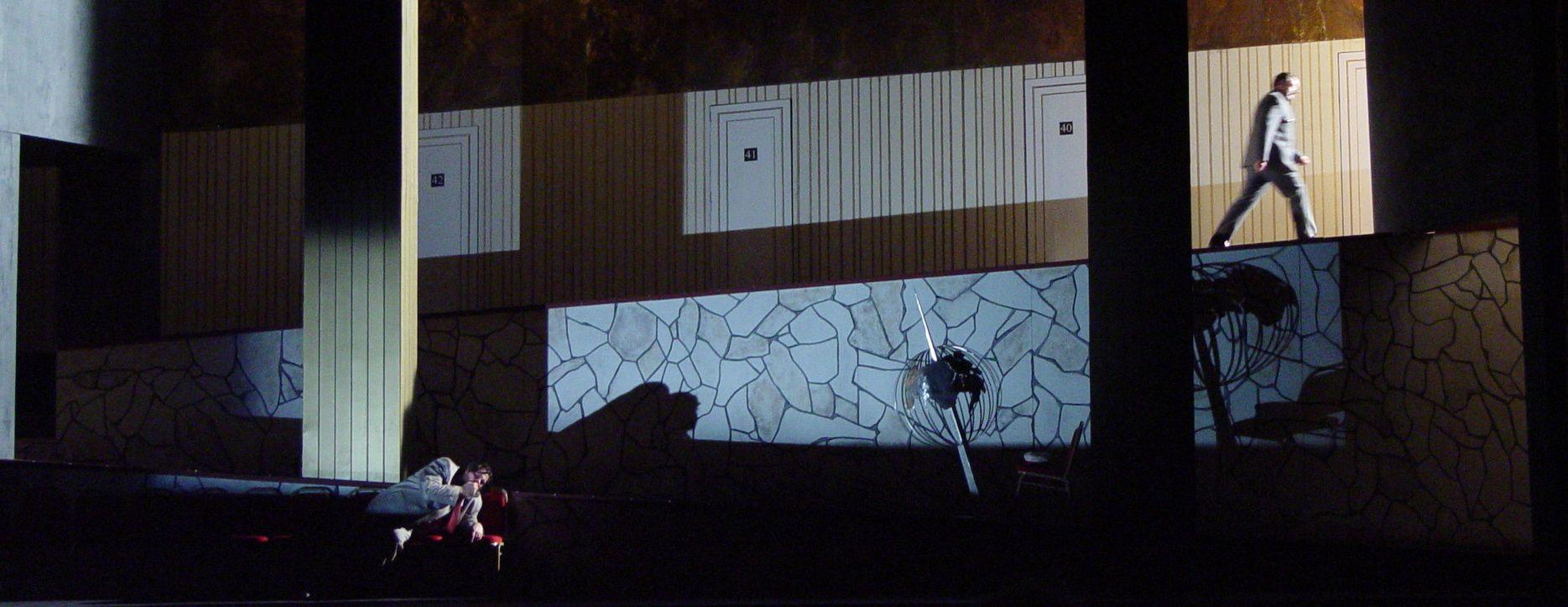 Boris Godunov | New Zealand Opera | Directed by Matthew Richardson | Designed by Giles Cadle (Photograph by Tony Rabbit)