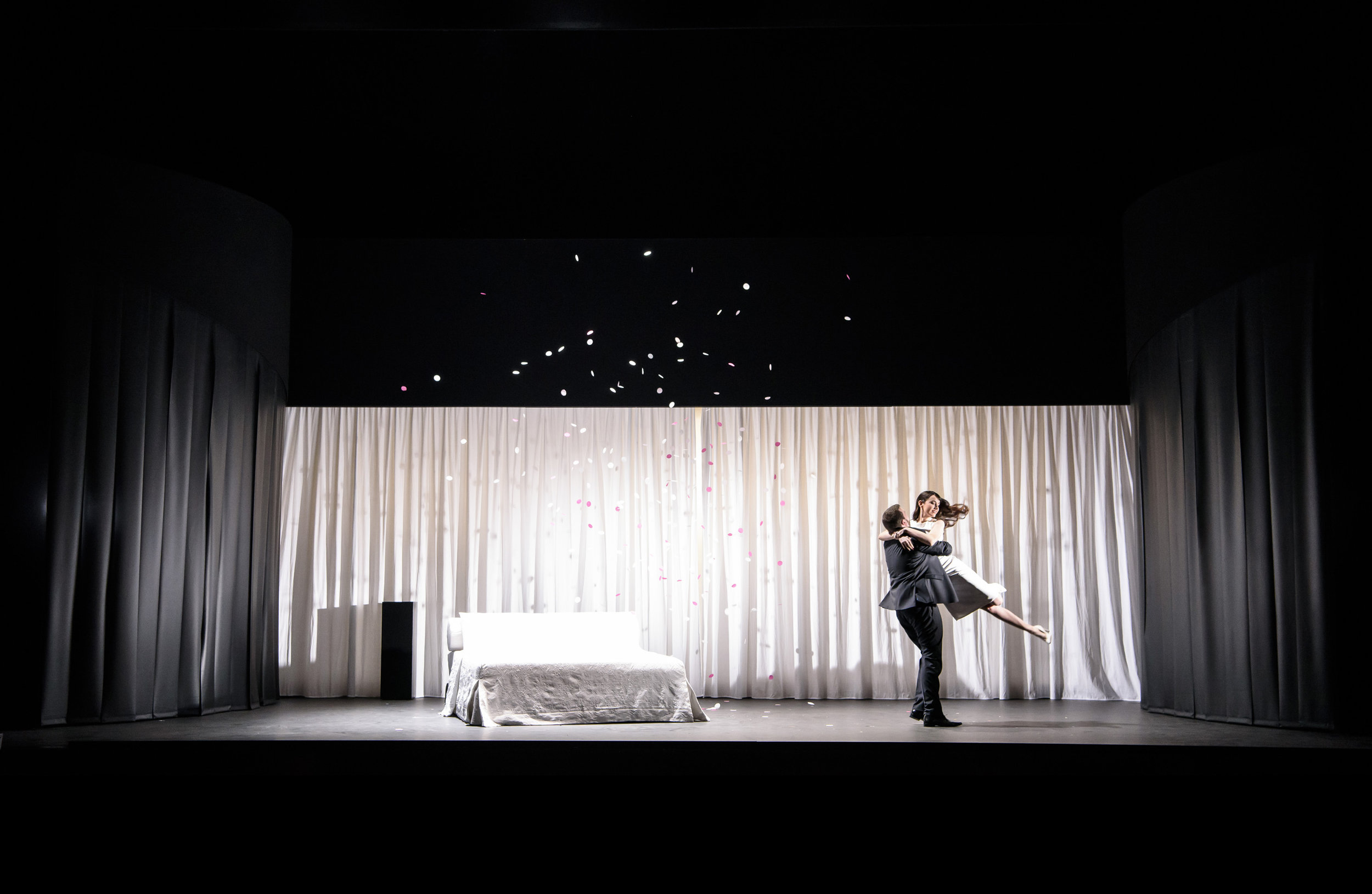 The Devil Inside  | Scottish Opera & Music Theatre Wales | Composed by Stuart MacRae | Directed by Matthew Richardson | Designed by Samal Blak | Lighting by Ace McCaron