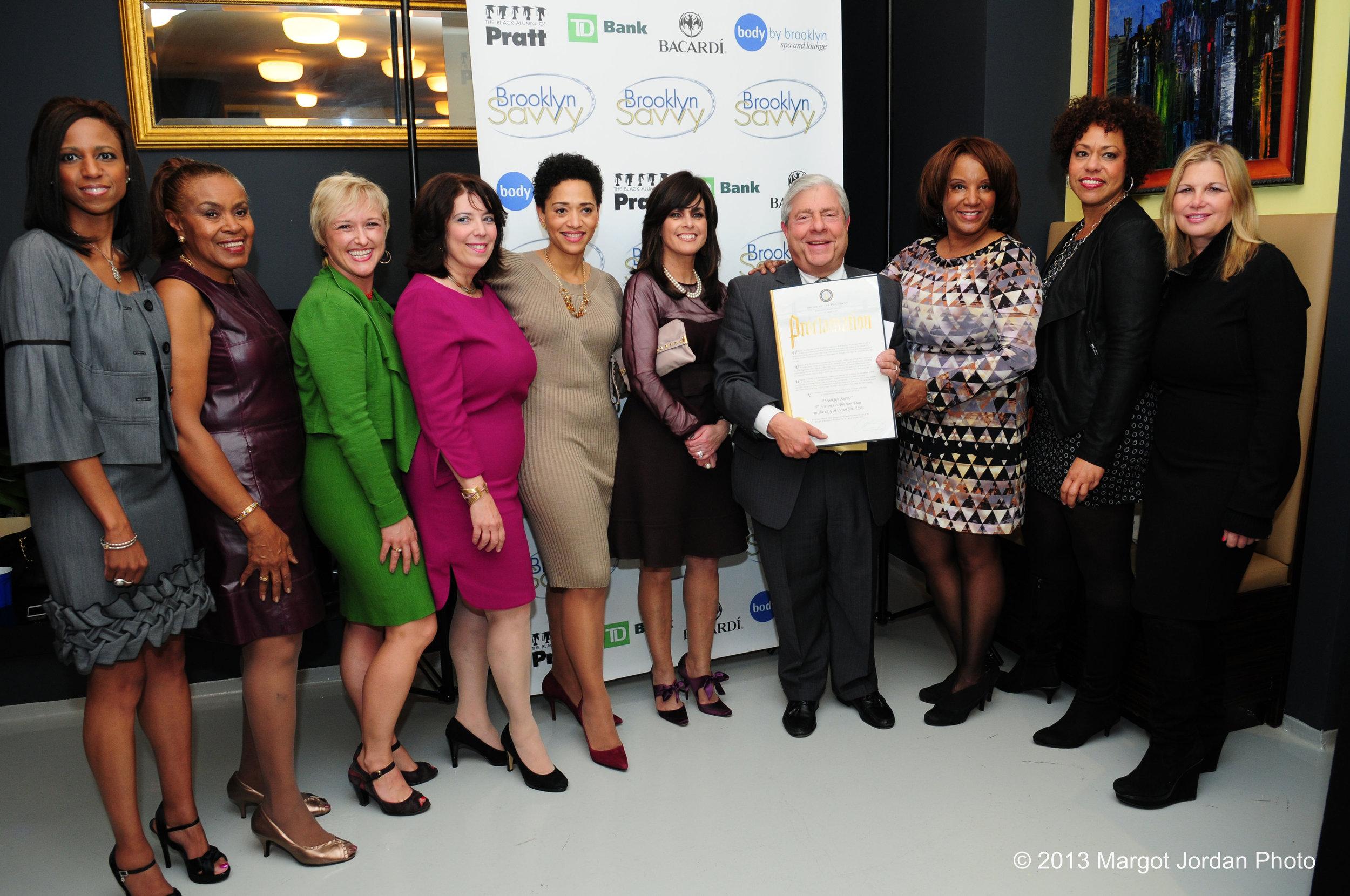 Brooklyn Savvy & former Brooklyn Borough Hall President Marty Markowitz