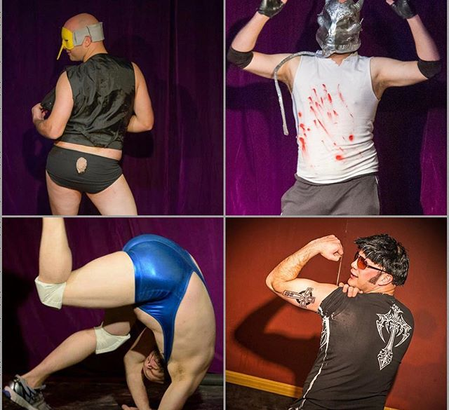 Founding company member Right This Way Robbie is the next performer in our audience pickems! Vote for which act you'd like to see in our 6 year anniversary show!  Comment below for: Mr. Burns Alien Attack Monty Python Ghost Bros  The winner will be revealed at the show!