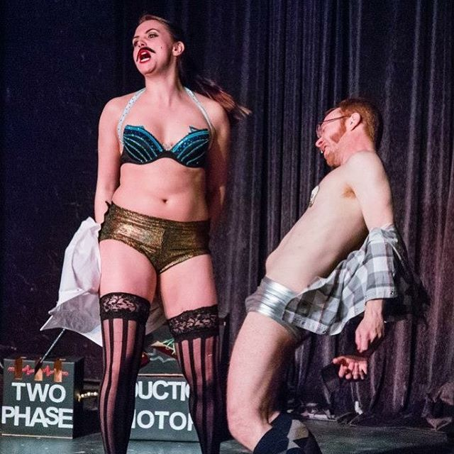 ⚡️FLASH SALE⚡️ For today only tickets to our anniversary show are HALF OFF!! Use code FLASH10 at checkout.  Ticket link in bio. #nerdlesque #plan9burlesque #likelightning