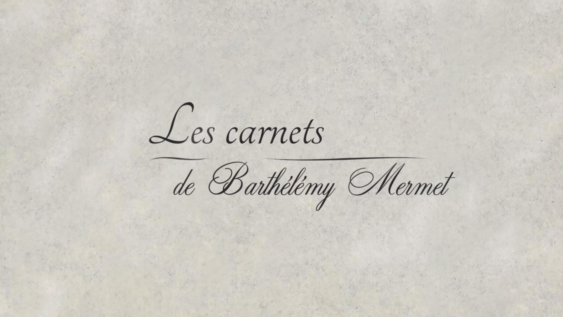 Les carnets de Barthélémy Mermet - Documentaire 52'