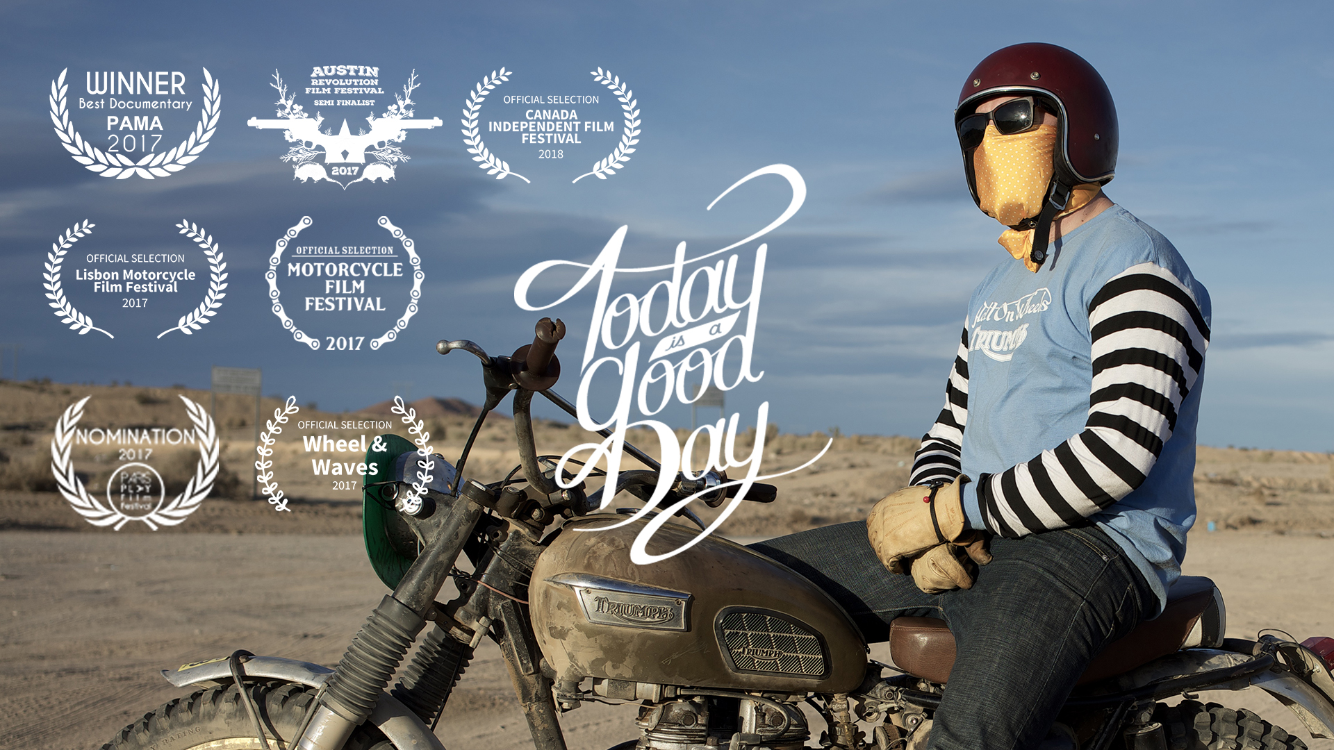 TODAY IS A GOOD DAY - DOCUMENTAIRE 52'