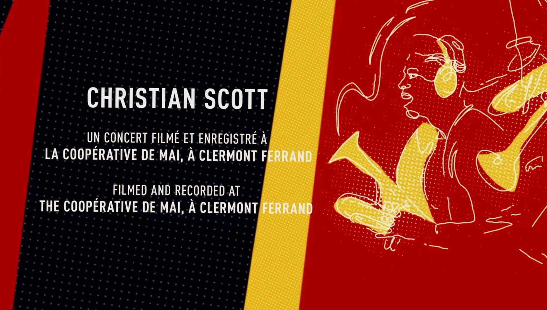 CHRISTIAN SCOTT - CONCERT 4K - 72'