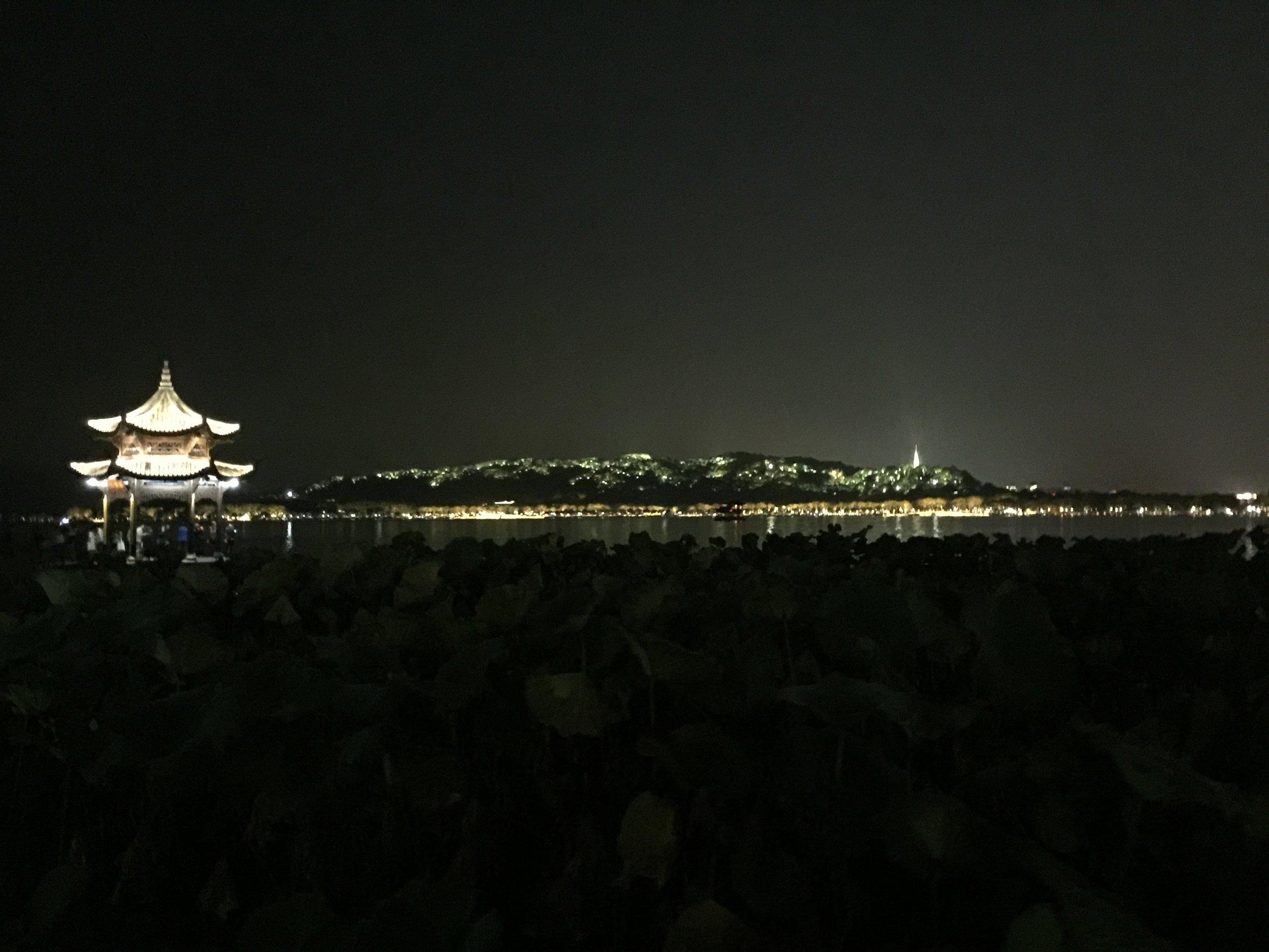 Beautiful city day and night