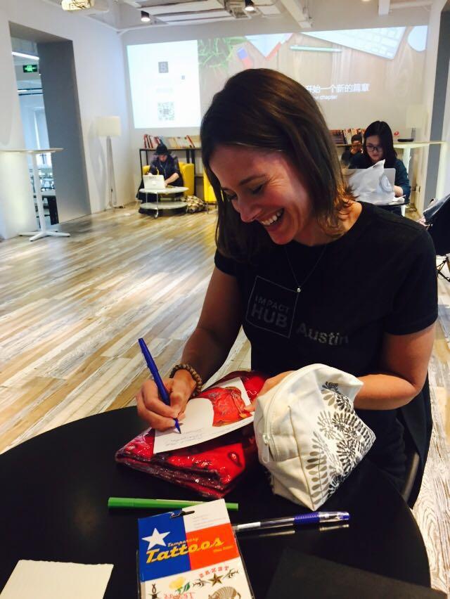 Sharing Austin's Raven & Lily with Impact Hub Shanghai