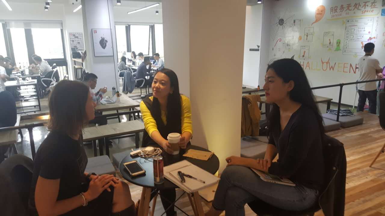 Cheering on the founders of China's 1st Impact Hub