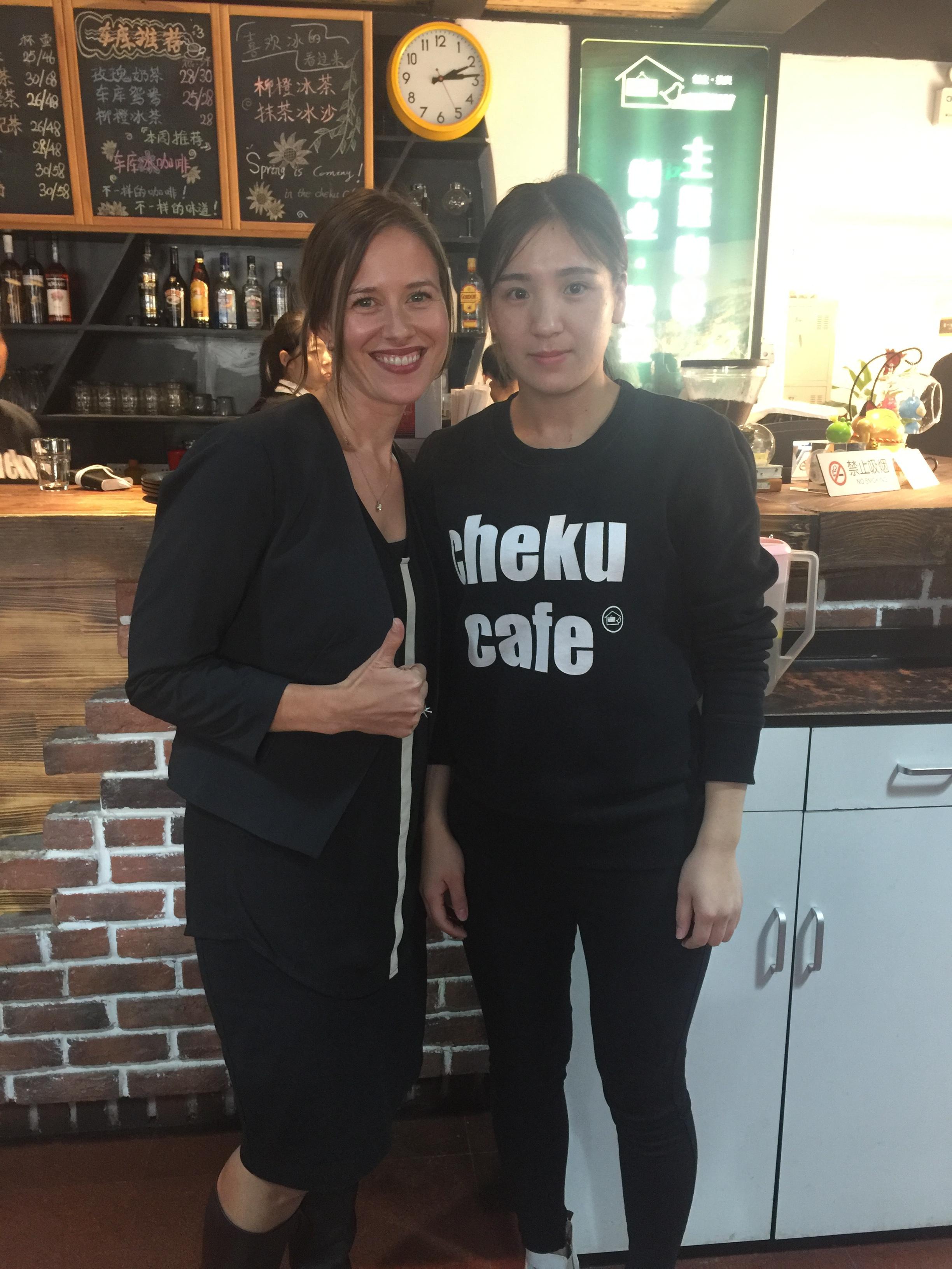 Cheku aka Garage Cafe