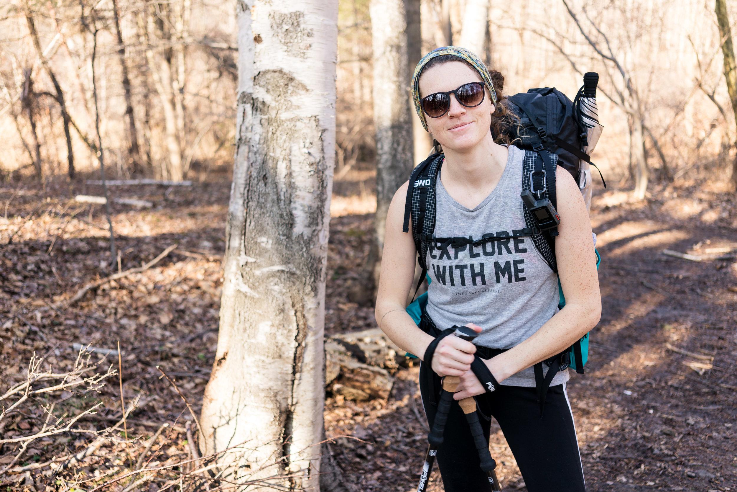 Woman-Hiking-In-TankTop