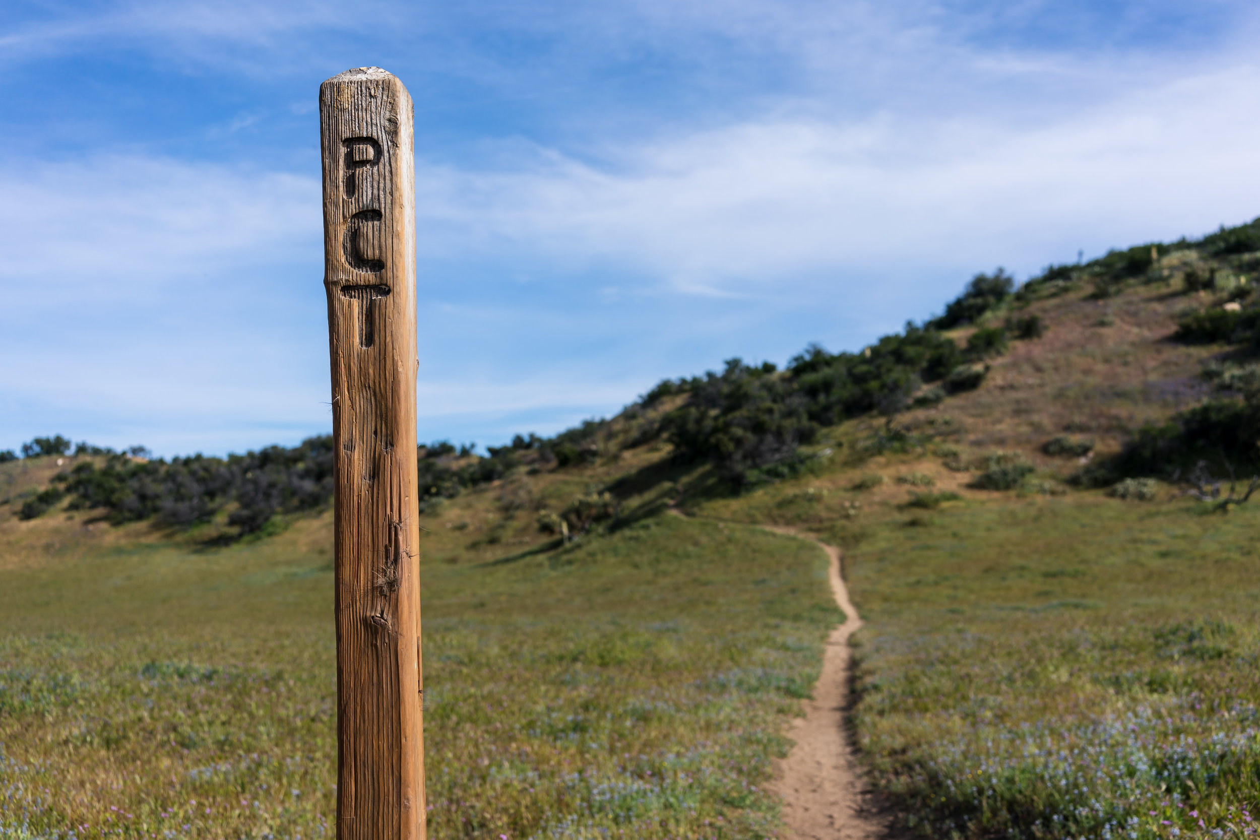 We're embarking on our biggest adventure yet. - We're currently hiking the Pacific Crest Trail.