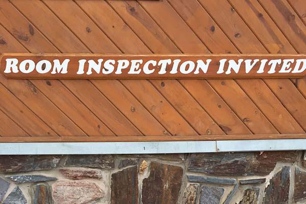 Room Inspection Invited | Cedar Wood Inn | Deadwood, SD