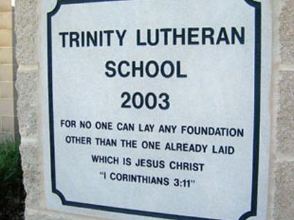 School Cornerstone