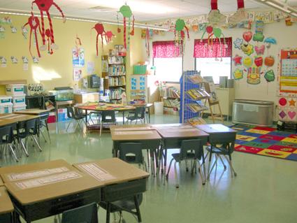 Lower- grades classroom