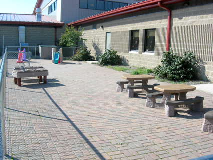 """Early Childhood """"Patio"""" Playground"""