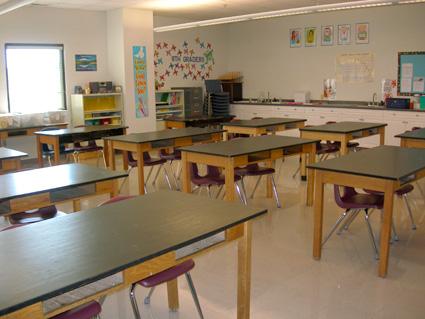 Junior High Science Room
