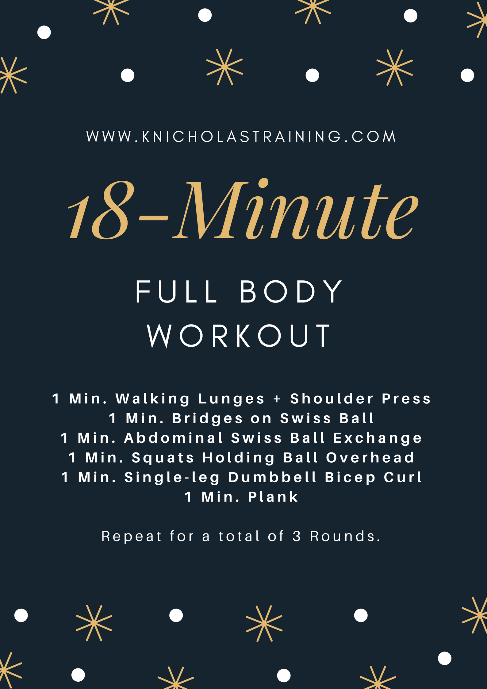 18-Minute Full-Body Workout