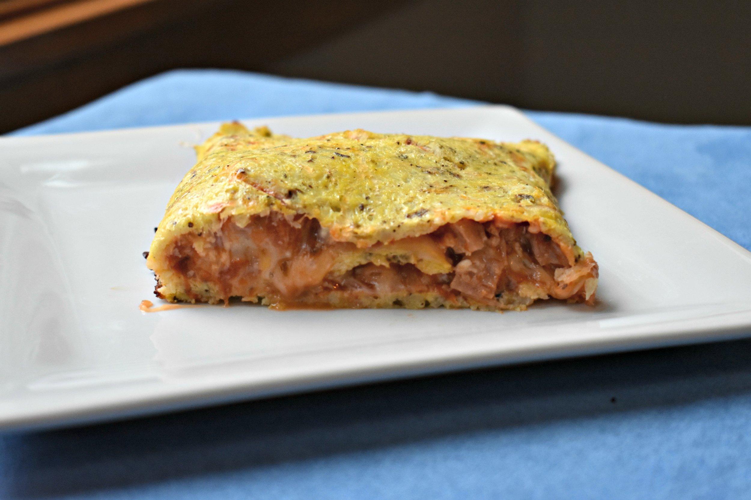 Cauliflower Crust Stromboli