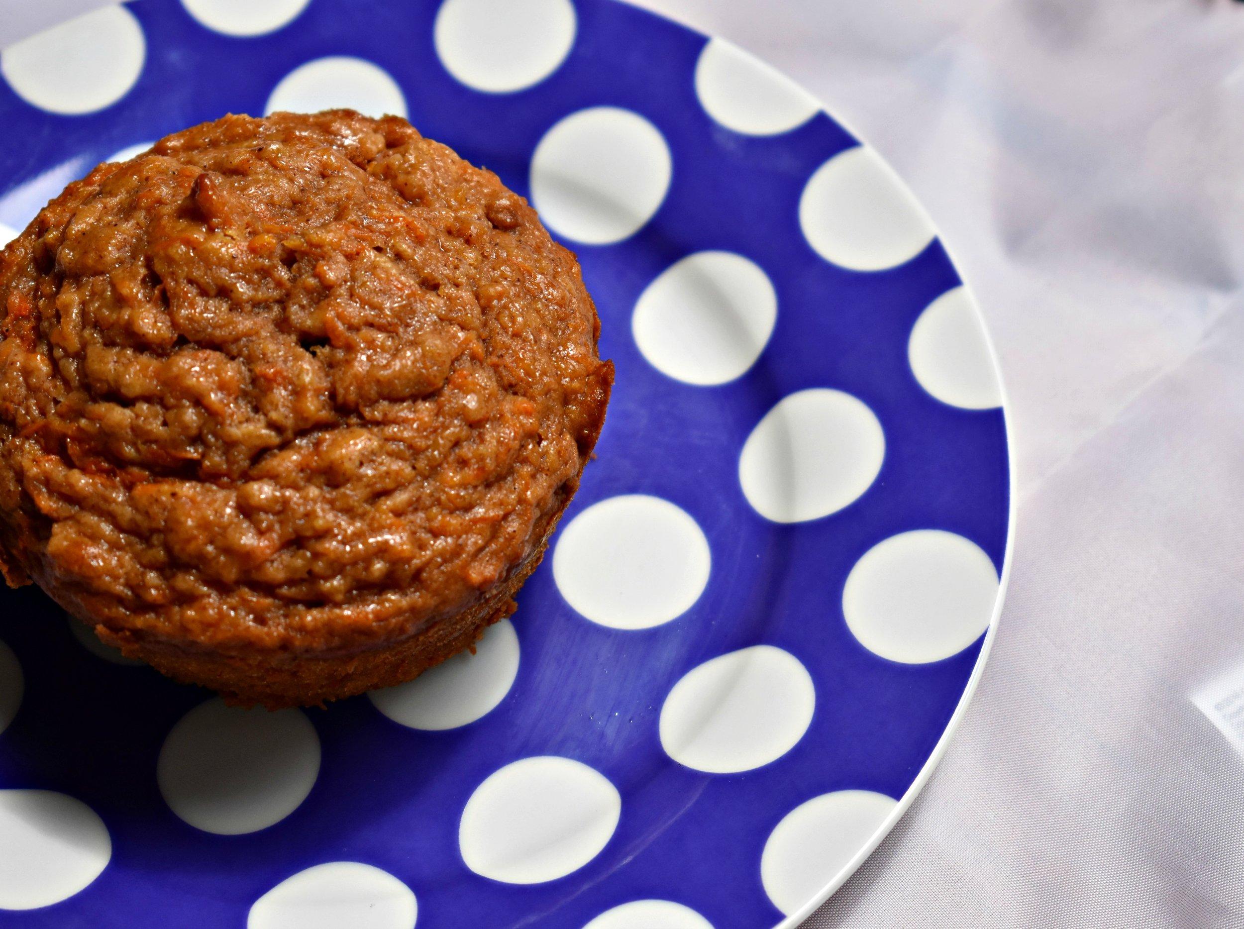 Applesauce Carrot Muffins