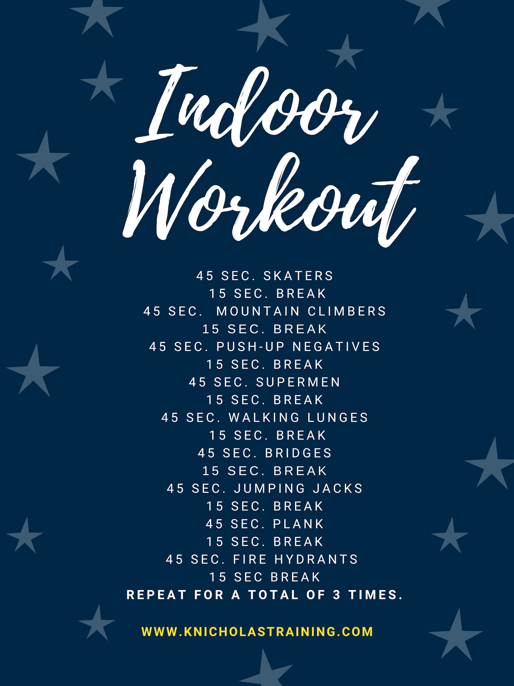 Best Indoor Workout