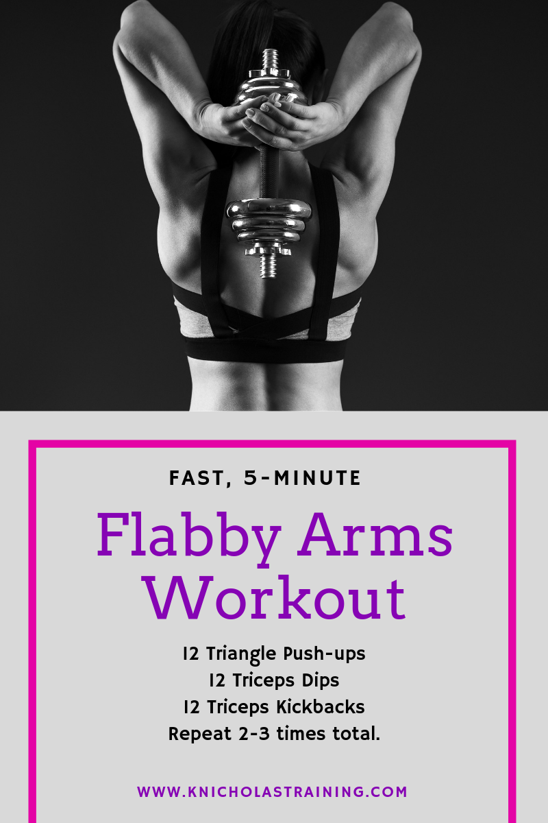 Flabby Arms Workout