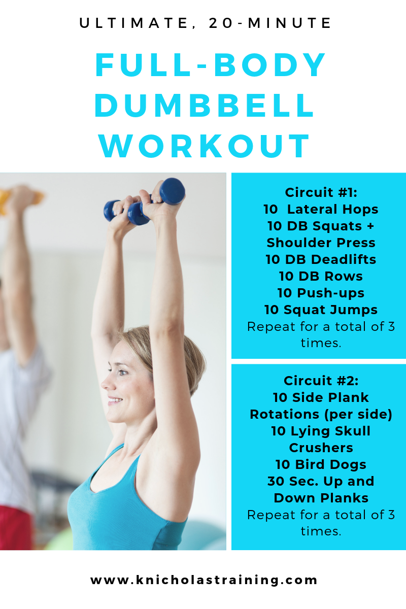 20-Min. Dumbbell Workout