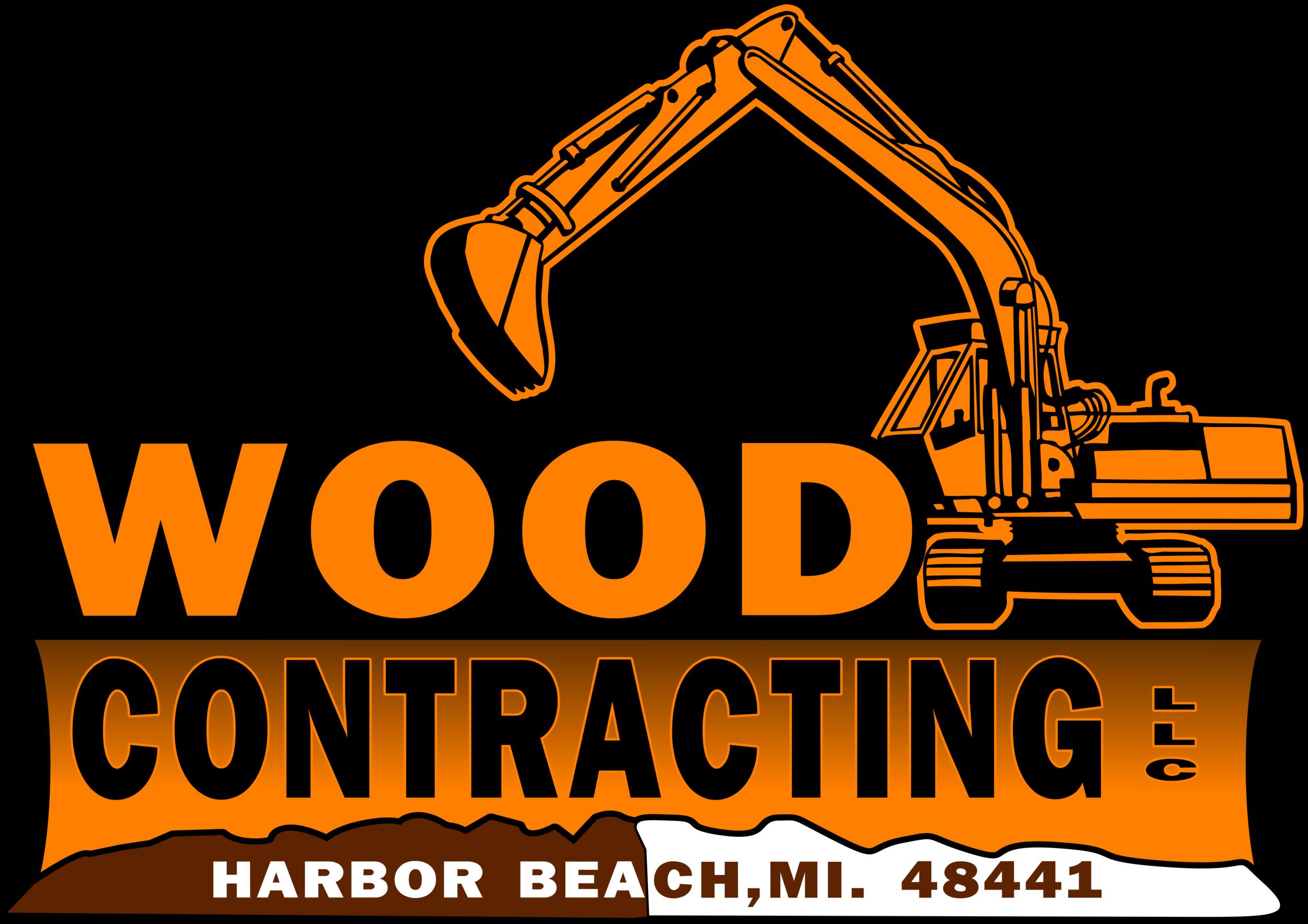 Wood Contracting Logo