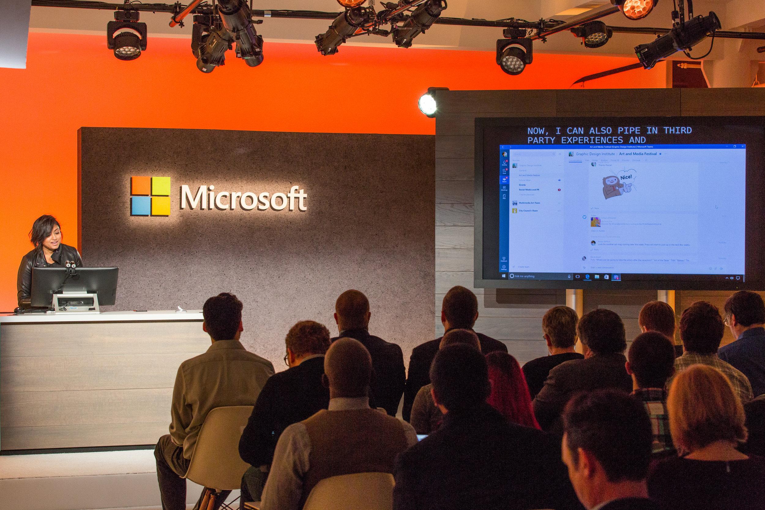 Watch here as Mira Lane takes us on a Microsoft Teams walkthrough