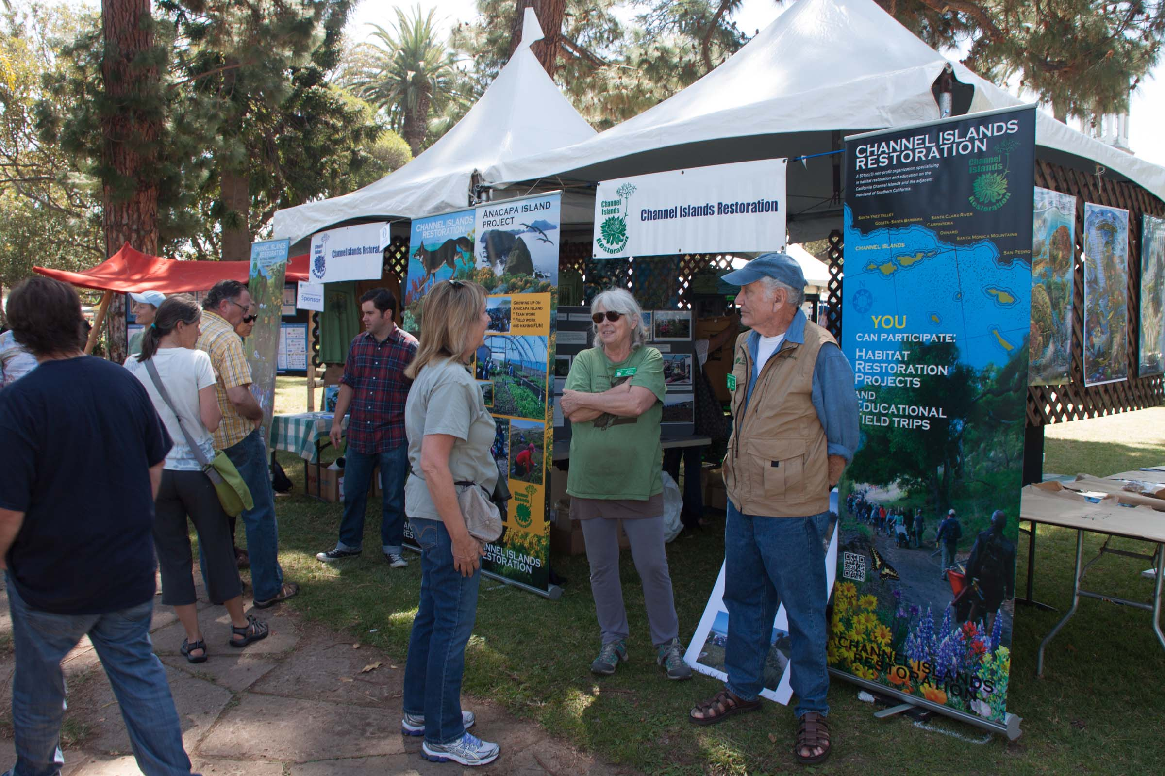 CIR at the Santa Barbara Earth Day -