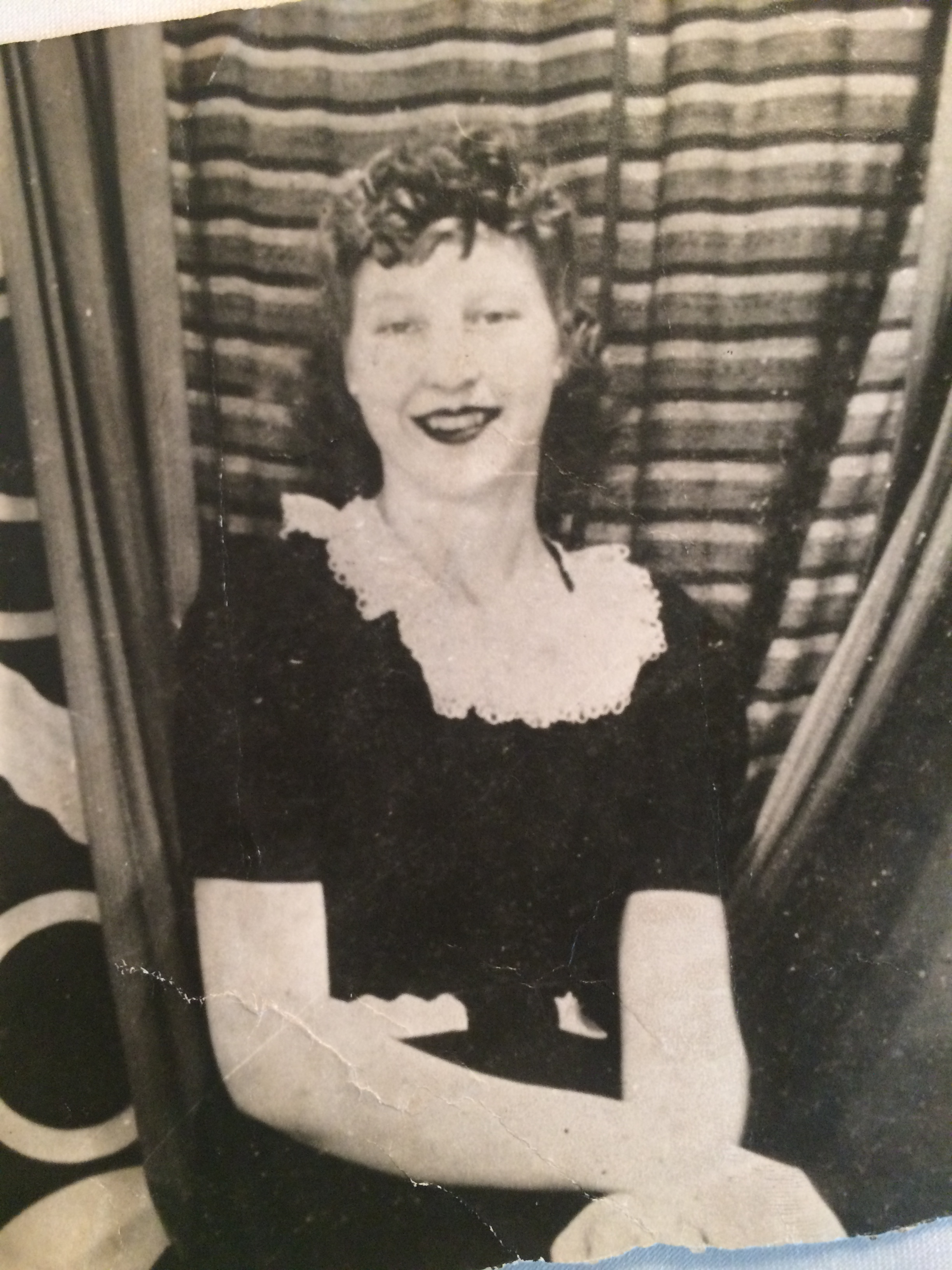 Mom at sixteen years old.